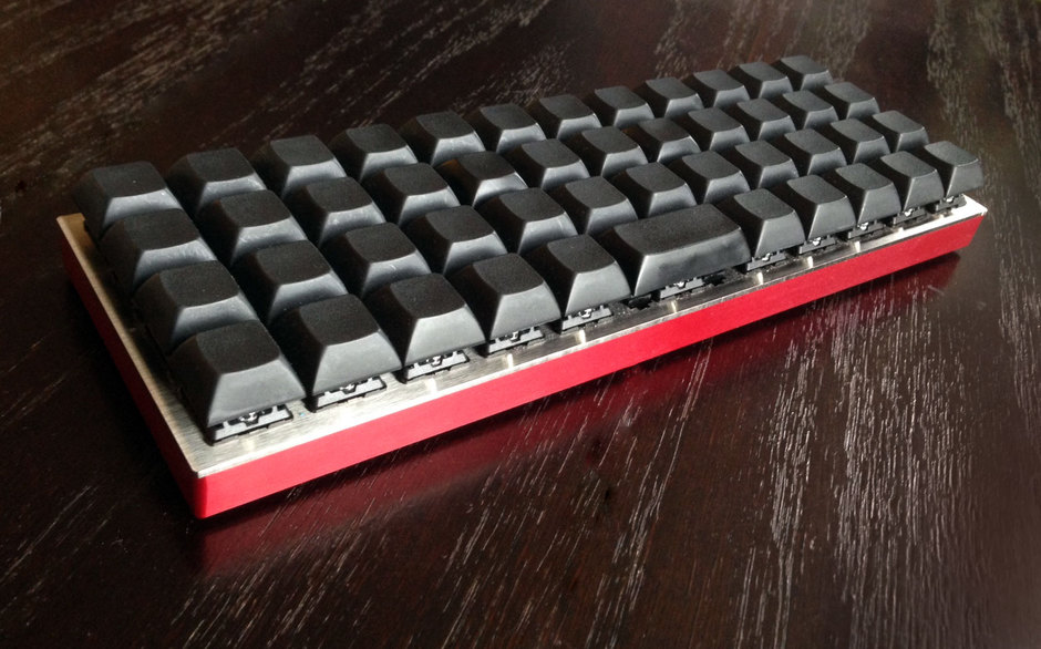 OLKB Planck programmable keyboard