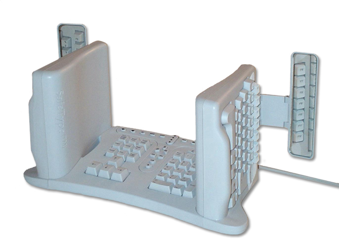 Vertical keyboard
